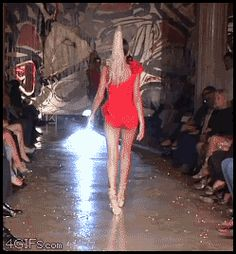 Fashion Show -- Cat Walk-- FaiL ... ROFL