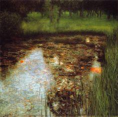 Le marais de G.Klimt