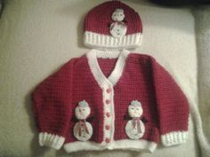 hand crochet toddler girl Christmas cardigan and by crochetfifi Crochet Toddler, Hand Crochet, Toddler Girl, Men Sweater, Trending Outfits, Unique Jewelry, Handmade Gifts, Sweaters, Petite Fille