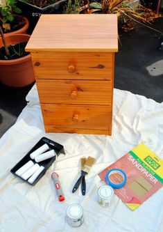 Great How-To article on painting wood furniture. Applies to unfinished wood or to paint over an older stained dresser.
