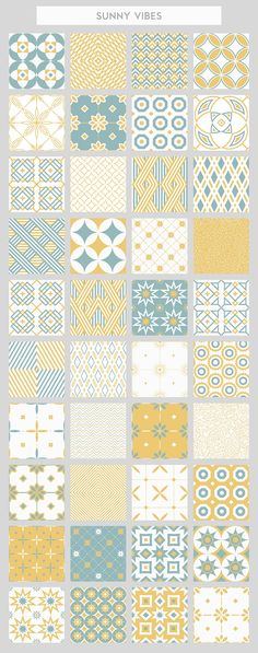 40 seamless patterns set - Patterns - 6
