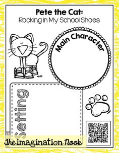 Pete the Cat - QR Codes for Listening Center. Grab this Freebie