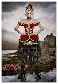 Find sexy Halloween costumes for women, men, and plus-size right here! Shop our selection for the best sexy Halloween costume ideas around! A revealing, sexy costume is sure to make your Halloween or cosplay event a memorable one. Queen Of Hearts Halloween, Queen Of Hearts Costume, Queen Costume, Corset Costumes, Adult Costumes, Costumes For Women, Cosplay Costumes, Alice In Wonderland Costume, Wonderland Party