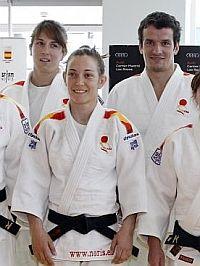 Los judokas olímpicos españoles ya están preparados para tratar de lograr las medallas. Mañana empieza la competición de judo. Suerte!