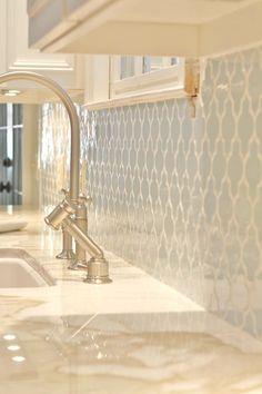 Love this Tile!  Bathroom?  Kitchen?
