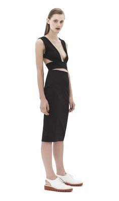 Knight Knee Length Dress Black - Dresses £77