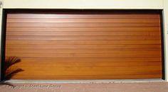 garage roller door wood - Google Search