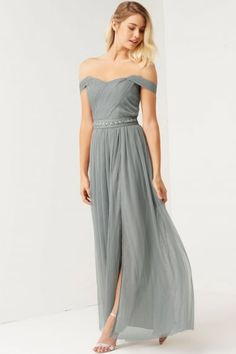 If you haven't seen the Little Mistress Bridesmaid collection then you are missing out. We love thier bridesmaids and flower girls collection like this Waterlily Jewel Waist Maxi
