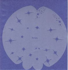 Airbrush Mini / Nail Stencil Set Cosmos BAB-08 & Flames BAB-07 #Badger