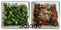 Meloen & Tonijn salade