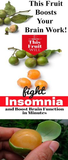 The Fruit That Stops Insomnia and Boosts Brain Work After a Few Minutes!