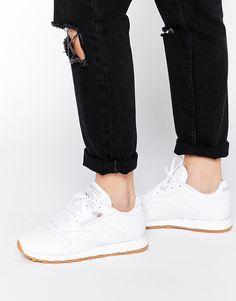 Reebok Classic White Retro Sneakers 4eedb067b