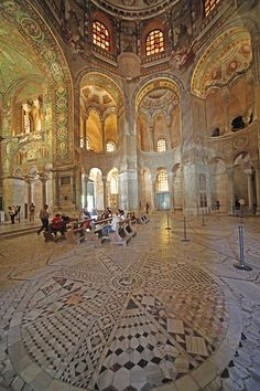San Vitale - Ravenna, Italy. #travel #italy #ravenna #color #art