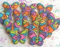 Butterfly Cookies  Butterfly Decorated Cookies  by lorisplace