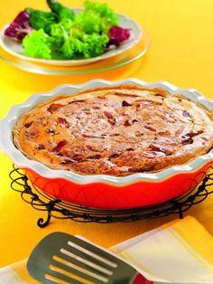 Quiche lorraine sans gluten - Recette de cuisine Marmiton : une recette