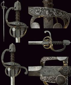 A beautiful rapier:    provenance: Germany dating: 16th Century