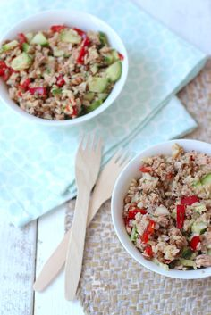 Photo by Lekker en Simpel Clean Recipes, Lunch Recipes, Salad Recipes, Healthy Recipes, Healthy Food, Netherlands Food, Work Meals, Happy Foods, Salad Bar