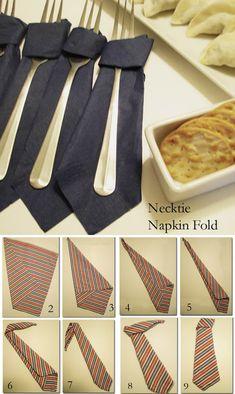 14 Creative Napkin-Folding Techniques - Neatologie.com