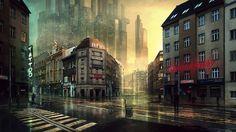 Extraña ciudad.