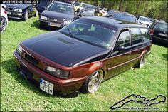 vw passat wagon custom | Custom Brown VW Passat 35i Wagon at the Woerthersee Tour GTI-Treffen ...