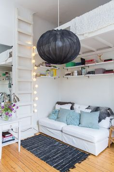 Small space - clever living.