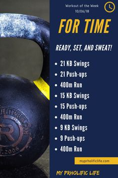 Workout of the Week 10/06/18