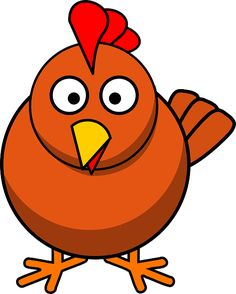 Gobble up these free turkey clip art images for your next fall project, all the way from newsletters to websites. Chicken Images, Chicken Pictures, Chicken Song, Cartoon Chicken, Preschool Songs, Chickens Backyard, Cute Cartoon, Cartoon Clip, Cartoon Body