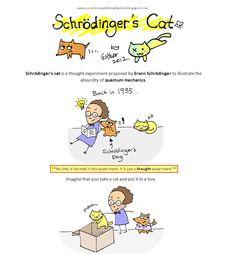 A Cartoon Guide to Physics - Quantum Story Telling: uses cartoons to discuss quantum mechanics and the Schrodinger's Cat paradox.