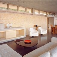 The unified living room, Vacation residence in Monemvasia Aggelidi Mariza, Gialta Lila, Papadakis Panagiotis