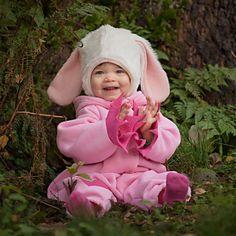 Bunny fleece overall (pink) - Taikalinna