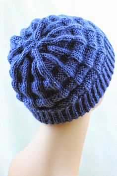 Belt Welt Hat Balls to the Walls Knits, A collection of free one- and two- skein knitting patterns