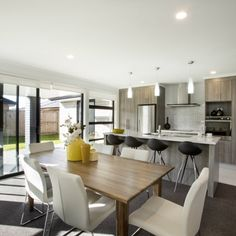 Homeowners are looking for seamless integration between entertaining spaces and a connected family-life with current trends featuring open plan kitchens. Learn more here.
