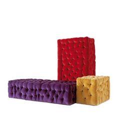 moss > La Michetta small sofa system (red, yellow,...