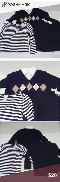 LOT OF WOMEN'S SIZE MEDIUM TOPS ALL ARE PRE OWNED BUT IN GOOD CONDITION ALL ARE SIZE MEDIUM THE BRANDS ARE- KAREN SCOTT ANN TAYLOR LOFT COLDWATER CREEK Ann Taylor Tops