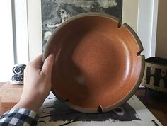 Rare Gigantic Edith Heath Ceramics Largest ashtray bowl
