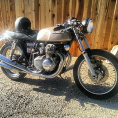 #FORSALE #Cb350f #CAFERACER 2500$ ride her home today !!! Jeffrey@cafes4sale.com #Padgram