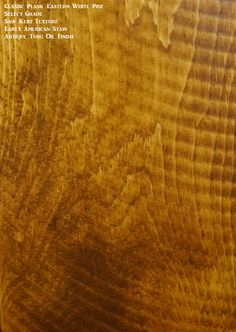 A saw kerf texture option with a stain and tung oil finish.