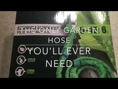 The only garden hose you'll ever need!