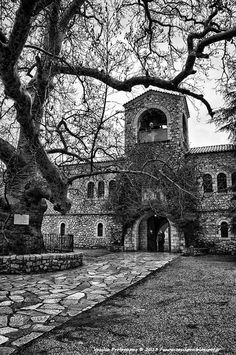 "Agia Lavra (""Holy Lavra"") is a monastery near Kalavryta, Achaea, Greece, built in 961 AD Copyright: Vasilis Protopapas"