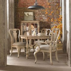Hooker Furniture Wakefield Round Leg Dining Table - Dillard's