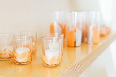 Paintapalooza Shoot: DIY table decor www.gatherevents.com  Photo by: TheWhyWeLove.com