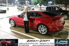 https://flic.kr/p/A96Xma | Happy Anniversary to Suzanne on your #Mazda #Mazda6 from AJ Springer at Mazda of Mesquite! | deliverymaxx.com/DealerReviews.aspx?DealerCode=B979