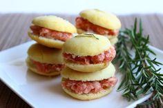 MIEL  RICOTTA: Macarons salati