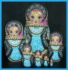 73 Best Nesting Dolls Images Dolls Matryoshka Doll
