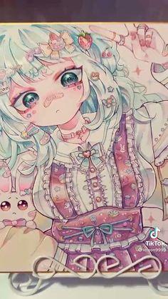 Art Drawings Sketches Simple, Kawaii Drawings, Cool Drawings, Anime Character Drawing, Character Art, Animes Yandere, Arte Sketchbook, Cartoon Art Styles, Anime Sketch