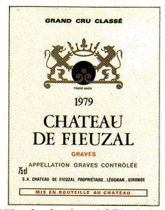 Chateau De Fieuzal Graves 1979 Wine Label