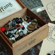 """Playing with the """"button box."""" My grandma kept all of her old buttons in a cigar box. OMG so do I, love my cigar button box. My Childhood Memories, Sweet Memories, Photo Vintage, I Remember When, Oldies But Goodies, Ol Days, My Memory, The Good Old Days, Vintage Buttons"""