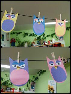 Owl toddler craft