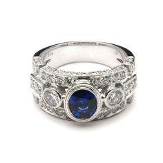 custom wide band rings - Google Search