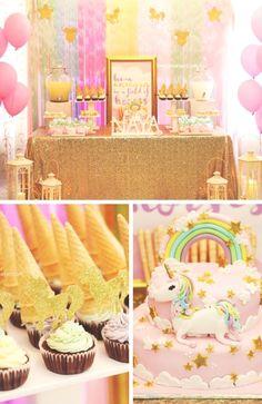 Sparkle Unicorn Baby Shower Party Shower Party, Baby Shower Parties, Unicorn Baby Shower Decorations, Little Unicorn, Sparkle, Fun, Diaper Parties, Hilarious